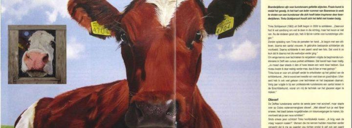Kunstenaars met Boerenvee op Farm& Country Fair
