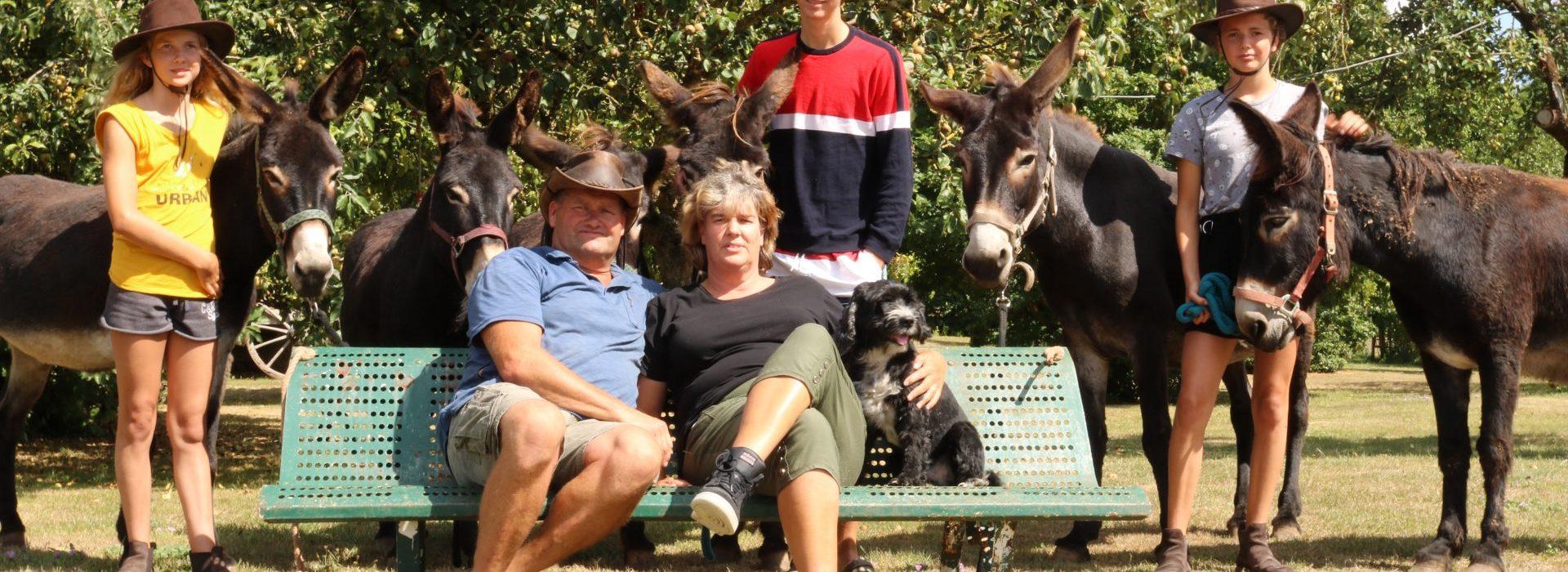 Avontuurlijk leven tussen de ezels