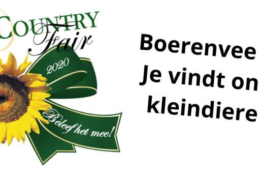 Boerenvee op Farm & Country Fair